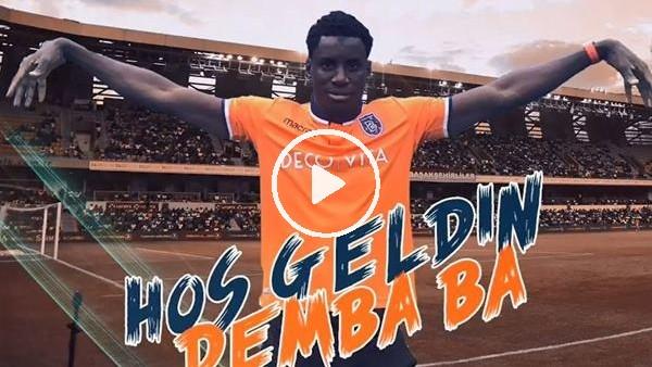 'Başakşehir, Demba Ba transferini böyle duyurdu