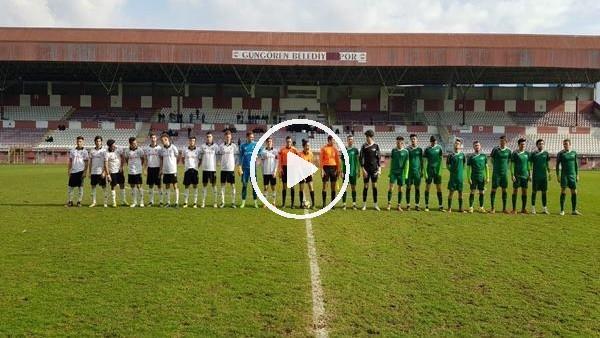 'U19 Ligi - Beşiktaş 4-0 Akhisarspor (Maç özeti)