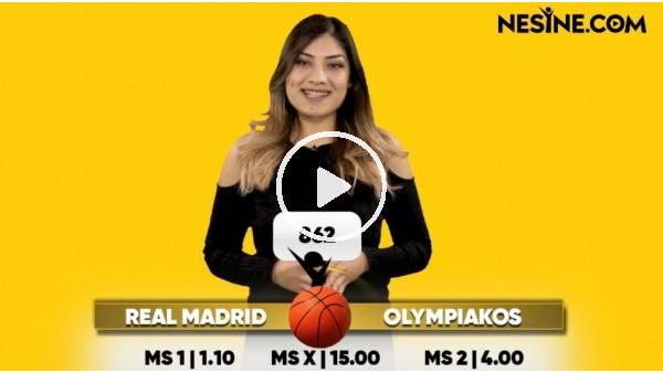 Real madrid - Olympiakos maçı Nesine'de! TIKLA & OYNA
