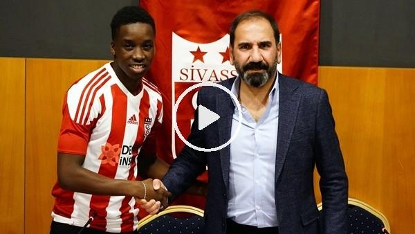 'Sivasspor, Diabate'ye imzayı attırdı