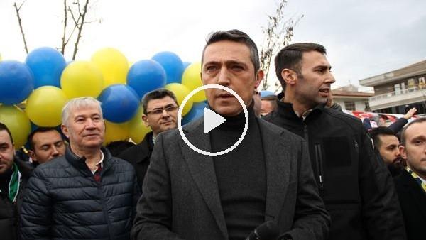 'Koray Şener Parkı'nın açılışını Ali Koç yaptı