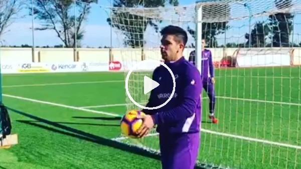 'Giovanni Simeone antrenmanda olağanüstü gol