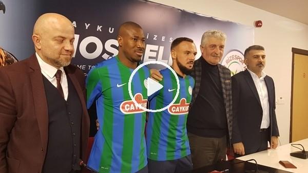 Çaykur Rizespor'da yeni transferler imzayı attı