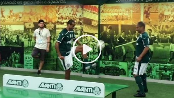 'Alex de Souza ve Rivaldo'dan ayak tenisi şov