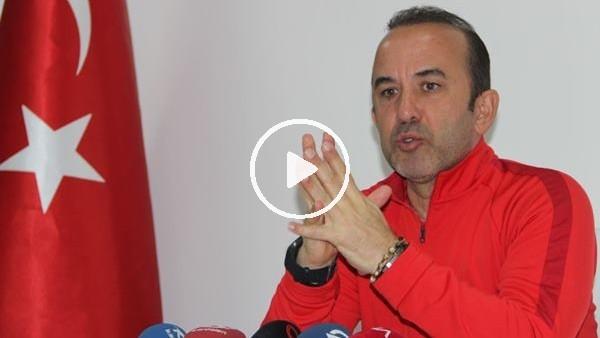 """'Mehmet Özdilek: """"Beşiktaş çok tecrübeli bir takım, kolay maç olmayacak"""""""