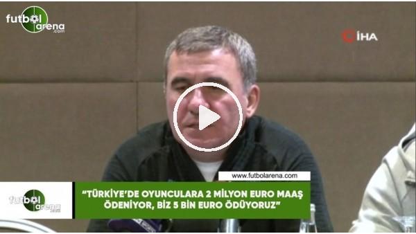 """'Hagi: """"Türkiye'de oyunculara 2 Milyon Euro maaş ödeniyor, biz 5 Bin Euro ödüyoruz"""""""