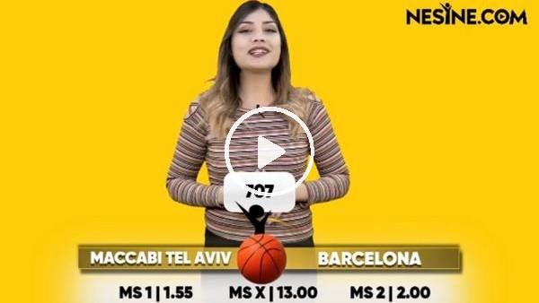 'Maccabi Tel Aviv - Barcelona TEK MAÇ Nesine'de! TIKLA & OYNA