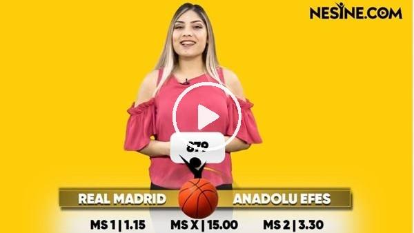 'Real Madrid - Anadolu Efes TEK MAÇ Nesine'de! TIKLA & OYNA