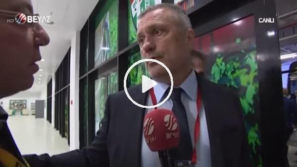"""'Volkan Ballı: """"Bursaspor'un golünde faıul ve ofsayt var"""""""