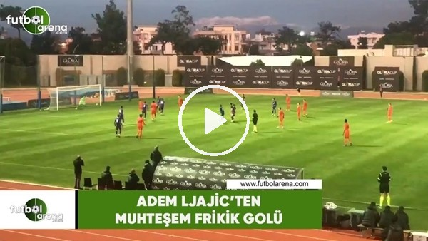 Adem Ljajic'ten muhteşem frikik golü