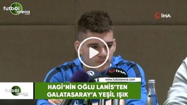 'Hagi'nin oğlu Lanis'ten Galatasaray'a yeşil ışık