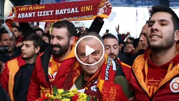 'Galatasaray kafilesi Bolu'da coşkuyla karşılandı