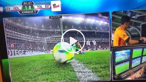 'Meksika Ligi'nde skandal VAR hatası