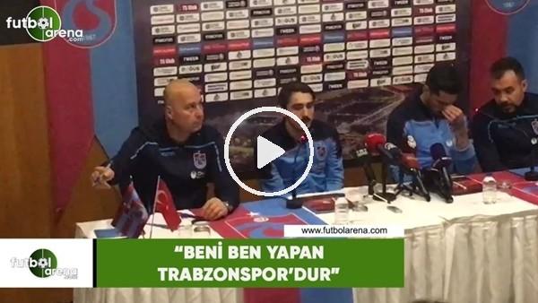 """'Abdulkadir Ömür: """"Beni ben yapan Trabzonspor'dur"""""""