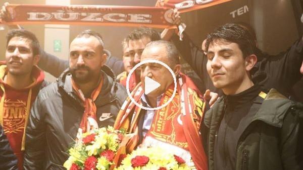 'Galatasaray'a Bolu'da coşkulu karşılama