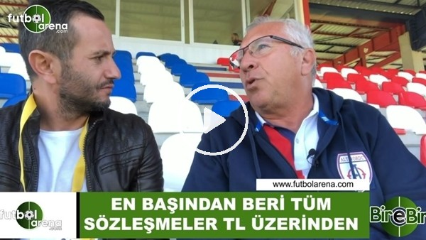 """'Mehmet Seyit Özkan: """"En başından beri tüm sözleşmeler TL üzerinden"""""""