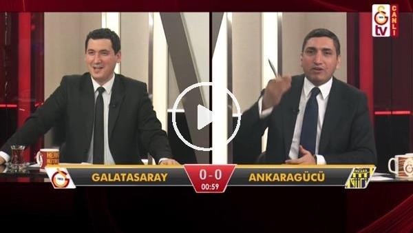 'Sinan Gümüş'ün golünde GS TV spikerleri