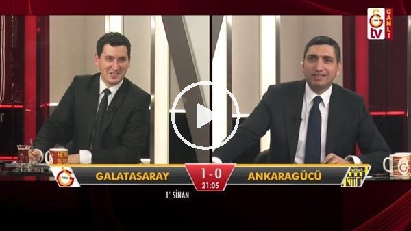 'Onyekuru'nun golünde GS TV spikerleri
