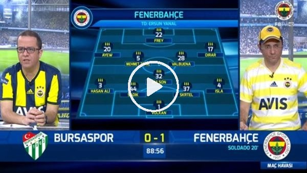 Aytaç Kara'nın golünde FB TV spikerleri