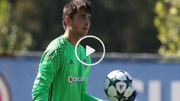 'Beşiktaş'ın genç kalecisi Ersin Destanoğlu'ndan muhteşem kurtarışlar