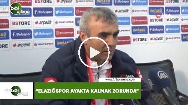 """'İlhan Aydın: """"Elazığspor ayakta kalmak zorunda"""""""