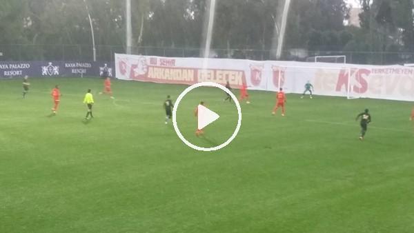 Kayserispor - Osmanlıspor maçı yoğun yağış nedeniyle iptal edildi