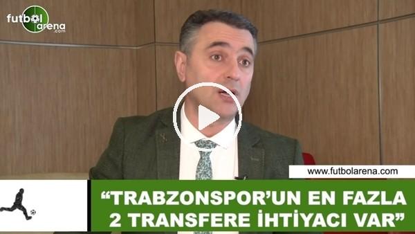 """Alp Pehlivan: """"Trabzonspor'un en fazla 2 transfere ihtiyacı var"""""""