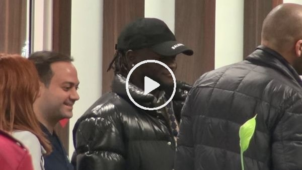 'Victor Moses, İstanbul'a geldi