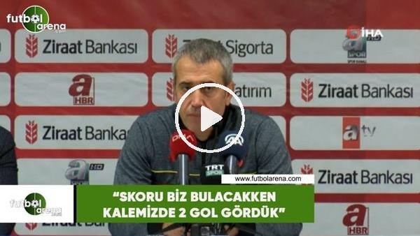 """'Kemal Özdeş: """"Skoru biz bulacakken kalemizde iki gol gördük"""""""