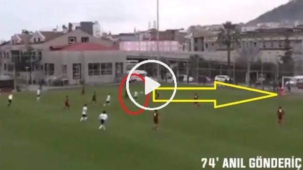 'Beşiktaş'ın U19 takımındaki gençten müthiş gol
