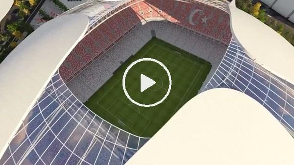 'Ankara'ya 55 bin kişilik stadyum müjdesi