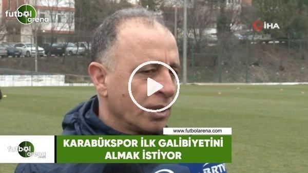 'Karabükspor ilk galibiyetini almak istiyor