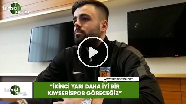"""'Hasan Hüseyin Acar: """"İkinci yarı daha iyi bir Kayserispor göreceğiz"""""""
