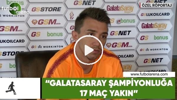 """Fernando Muslera: """"Galatasaray şampiyonluğa 17 maç yakın"""""""