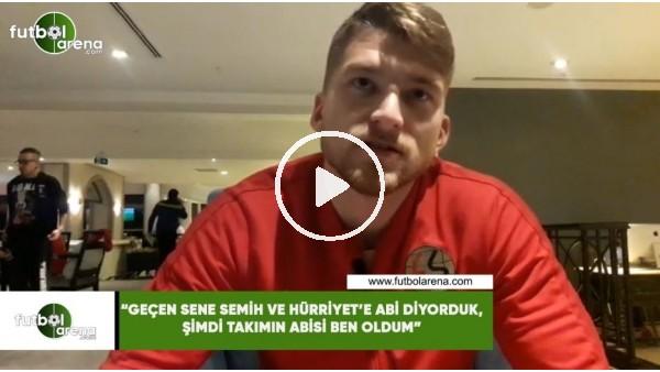 """'Semih Güler: """"Geçen sene Semih ve Hürriyet'e abi diyorduk, şimdi takımın abisi ben oldum"""""""