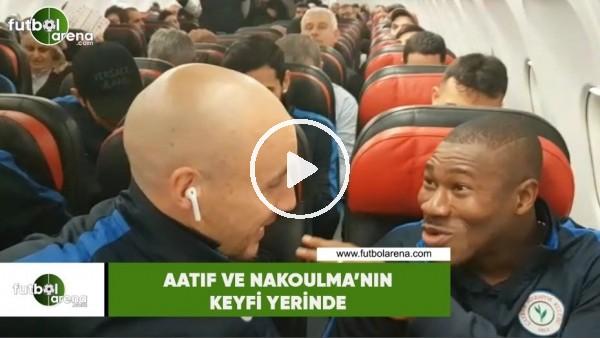 'Aatıf ve Nakoulma'nın keyfi yerinde