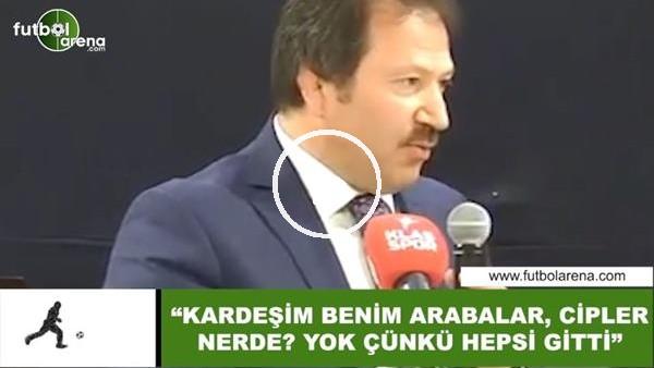 """'Mehmet Yiğiner: """"Kardeşim benim arabalar, cipler nerede? Yok çünkü hepsi gitti"""""""