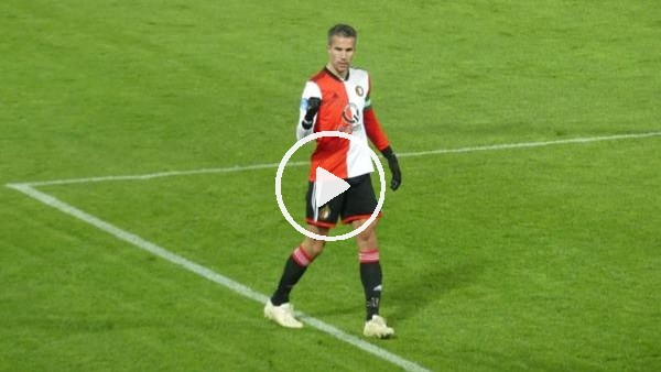 'Robin van Persie coştu!  Feyenoord yarı finale çıktı...