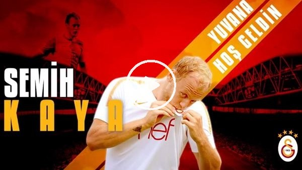 'Galatasaray, Semih Kaya transferini duyurdu
