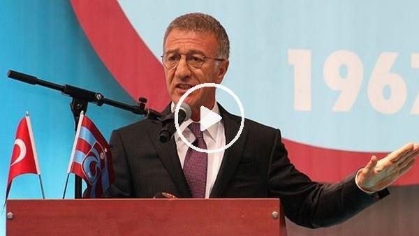 'Ahmet Ağaoğlu'nun Başakşehir maçı sonrası açıklamaları