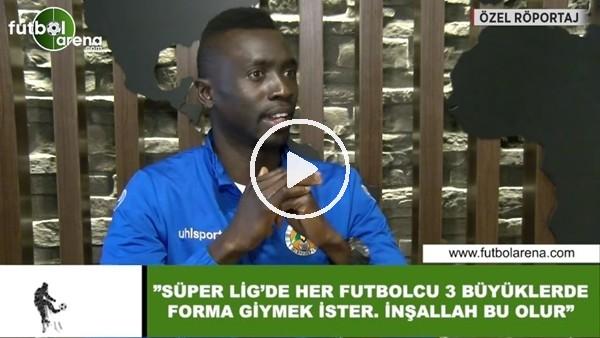 """'Papiss Cisse: """"Süper Lig'de her futbolcu 3 büyüklerde forma giymek ister. İnşallah bu olur"""""""