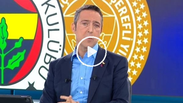 """'Ali Koç: """"Fenerbahçe her dönem cazibe merkezi olmuştur"""""""