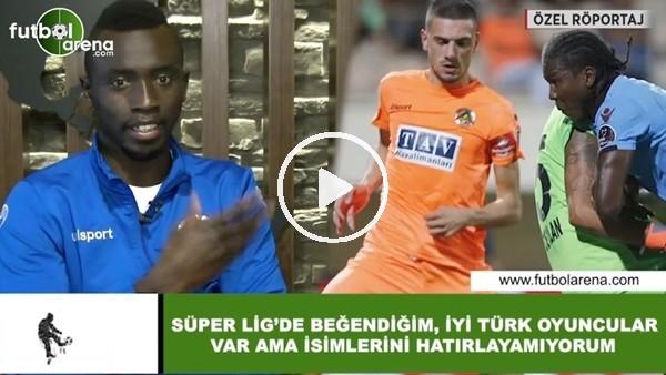 """'Papiss Cisse: """"Süper Lig'in beğendiğim, iyi Türk oyuncular var ama isimlerini hatırlamıyorum"""""""