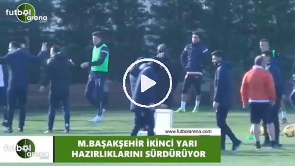 'Başakşehir'de Trabzonspor maçı hazırlıkları
