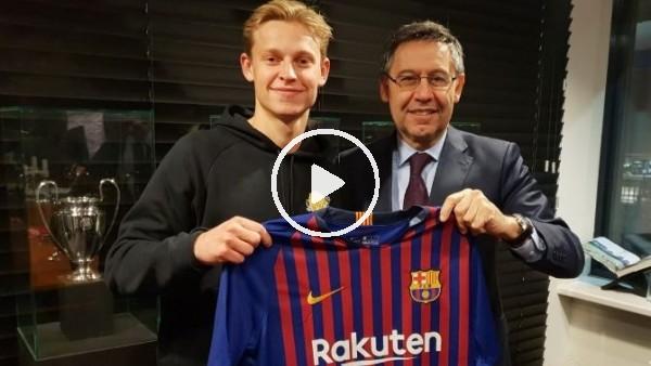 'Barcelona, Frenkie De Jong  transferini açıkladı