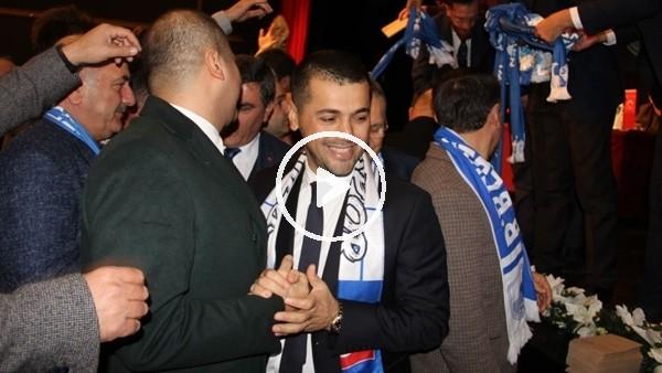 'Erzurumspor'un yeni başkanı Hüseyin Üneş oldu