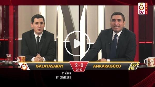 'Sinan Gümüş'ün 2. golünde GS TV spikerleri