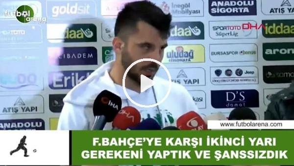 """'Aytaç Kara: """"Fenerbahçe'ye karşı ikinci yarı gerekeni yaptık ve şansızdık"""""""