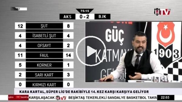 'Larin'in golünde BJK TV spikerleri