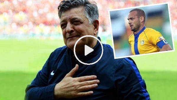 'Yılmaz Vural'dan Sneijder transferi için flaş açıklama
